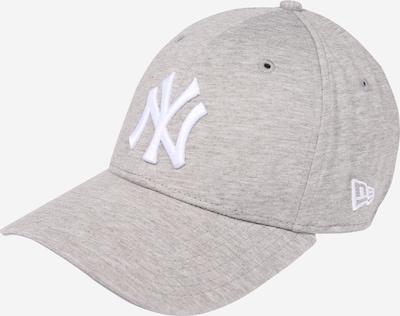 Kepurė 'JERSEY ESSENTIAL 9FORTY' iš NEW ERA , spalva - margai pilka / balta, Prekių apžvalga