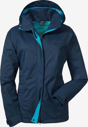 Schöffel Outdoorjas 'Easy L 3' in de kleur Turquoise / Nachtblauw, Productweergave
