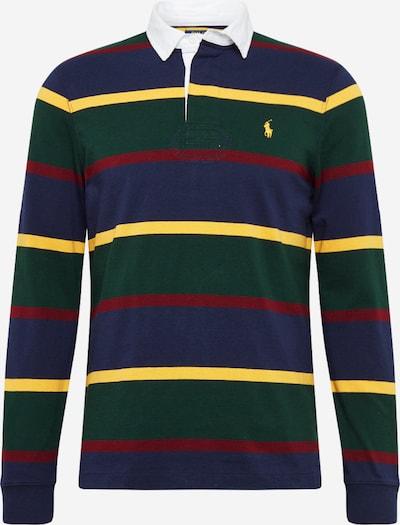 POLO RALPH LAUREN Shirt in de kleur Navy / Geel / Groen / Wijnrood, Productweergave