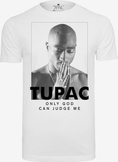 Mister Tee Tee '2Pac Prayer' in schwarz / weiß: Frontalansicht