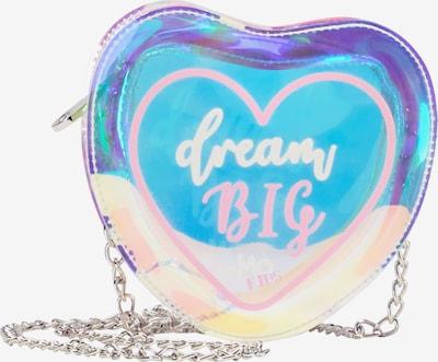 myMo KIDS Umhängetasche in blau / pastellgelb / rosa / weiß, Produktansicht
