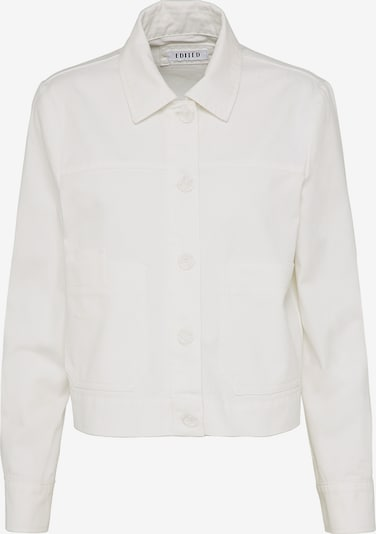 EDITED Prehodna jakna 'Karla' | bela barva, Prikaz izdelka