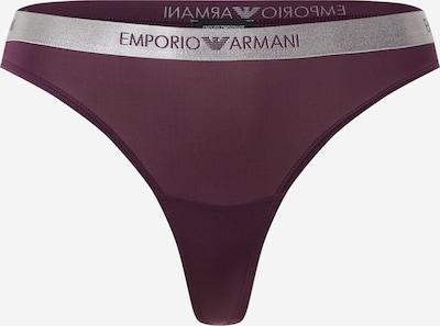 Emporio Armani String 'VISIBILITY' en baie / argent, Vue avec produit