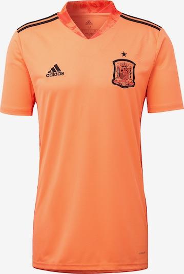 ADIDAS PERFORMANCE Shirt in orange / schwarz, Produktansicht