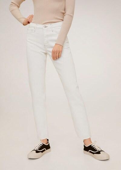 MANGO Jeans in weißmeliert, Modelansicht