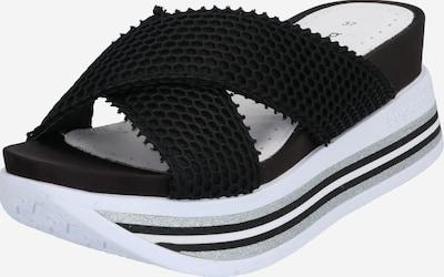 bugatti Slipper 'Jil' in schwarz / weiß, Produktansicht