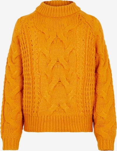 PIECES Pullover in orange, Produktansicht