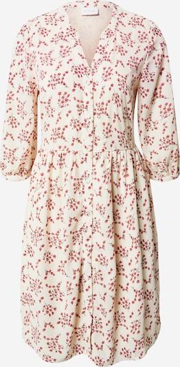 VILA Sukienka koszulowa 'MAILYBAILY' w kolorze czerwony / offwhitem: Widok z przodu