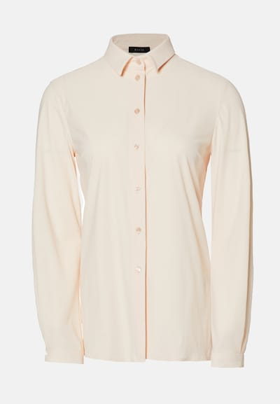 EVITA Bluse in nude / apricot / rosé: Frontalansicht