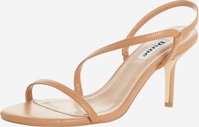 Dune LONDON Sandale in camel, Produktansicht