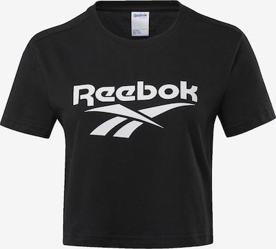 Reebok Classic Shirt in schwarz / weiß, Produktansicht