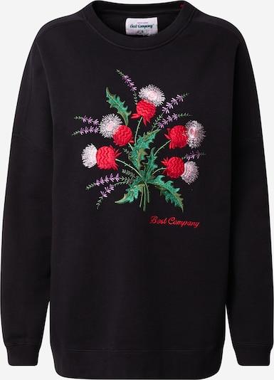 Best Company Sweatshirt in schwarz, Produktansicht