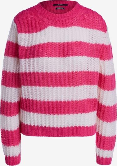 SET Pullover in pink / weiß, Produktansicht