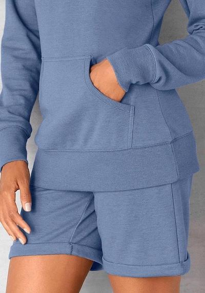 BENCH Shorts in blue denim, Modelansicht