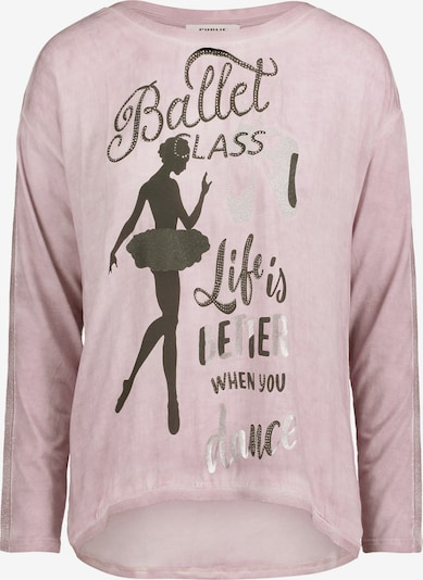 Public Casual-Shirt in pink / schwarz, Produktansicht