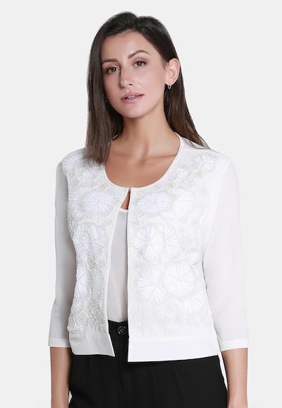 Usha Strickjacke in weiß, Modelansicht