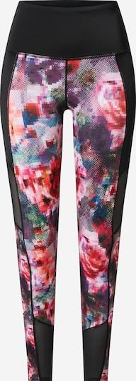 HKMX Sporthosen 'Floral Flex' in mischfarben / schwarz, Produktansicht