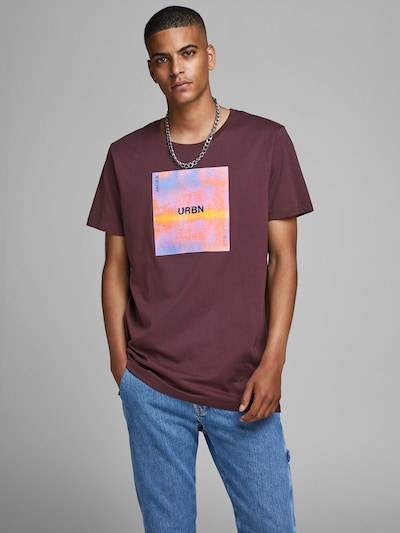 JACK & JONES T-Shirt en mauve / baie: Vue de face