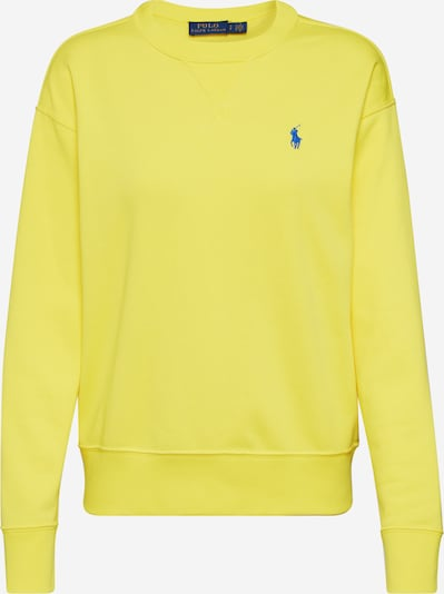POLO RALPH LAUREN Sweatshirt  'LS PO-LONG SLEEVE-KNIT' in gelb, Produktansicht