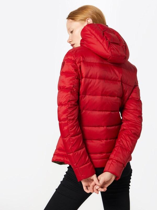 D'hiver Rouge usa Veste Blauer En srxBthdQC