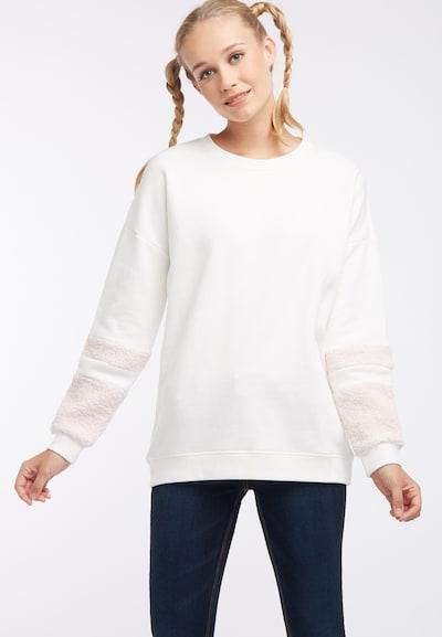 MYMO Sweat-shirt en beige / cappuccino: Vue de face