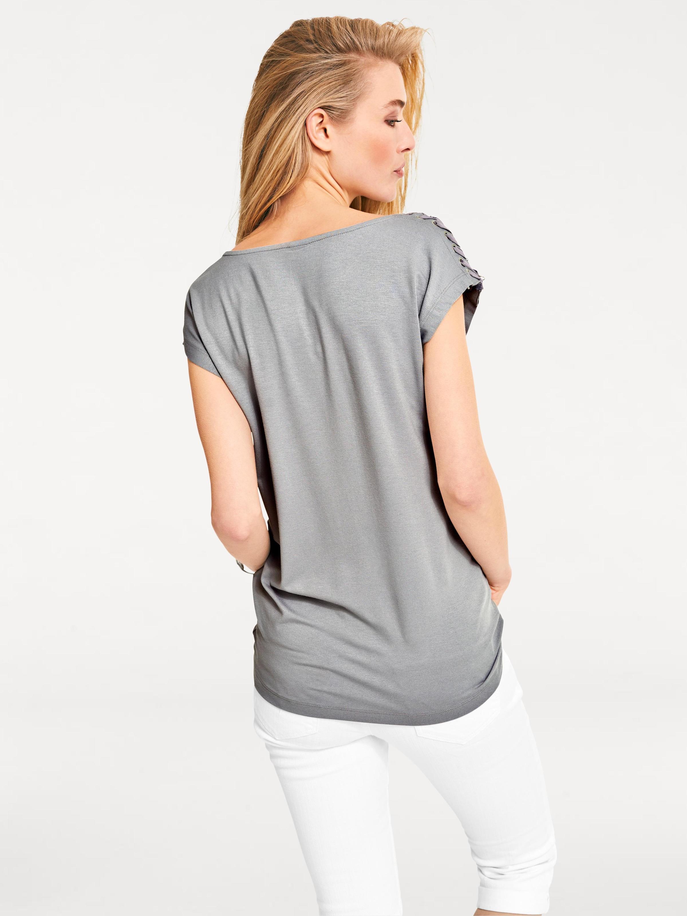 Heine Heine Heine Shirt Shirt In In Graumeliert Graumeliert Shirt c3FKlJ1T