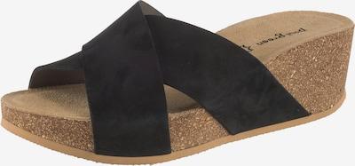 Paul Green Pantolette in beige / dunkelblau, Produktansicht