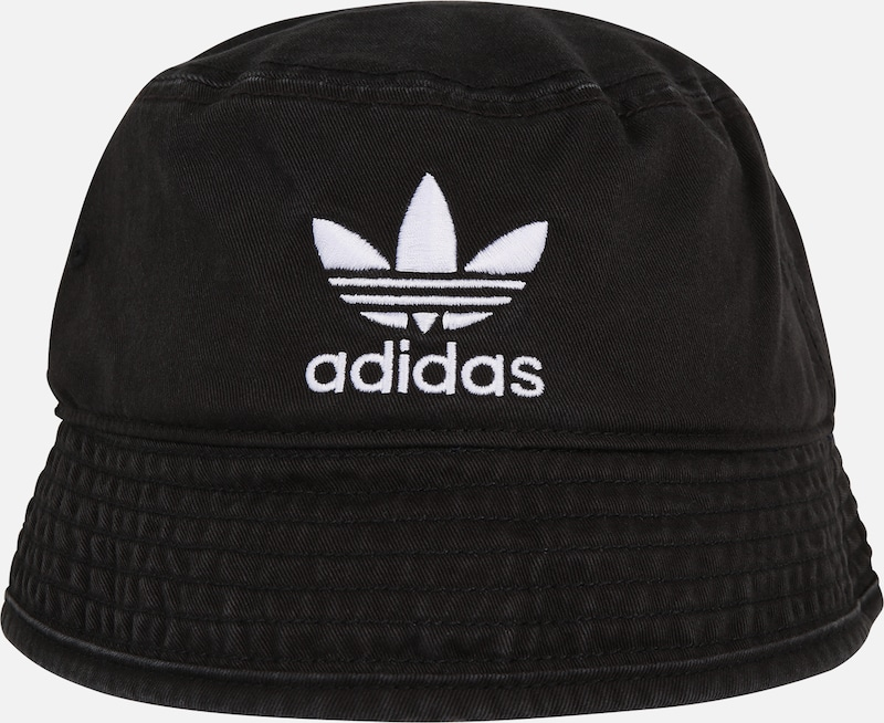 ADIDAS ORIGINALS Hoed 'BUCKET HAT AC' in Zwart | ABOUT YOU