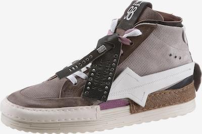 A.S.98 Sneaker high in braun / taupe, Produktansicht