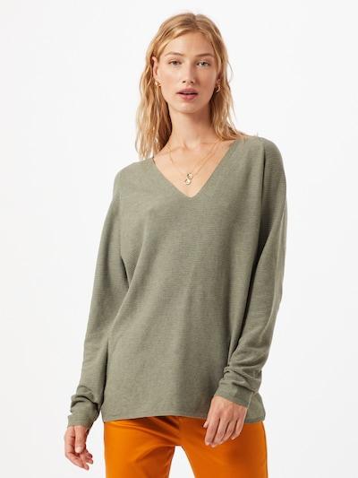 STREET ONE Pullover in oliv, Modelansicht