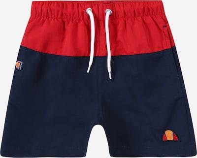 ELLESSE Kupaće hlače 'Wavias' u mornarsko plava / crvena, Pregled proizvoda