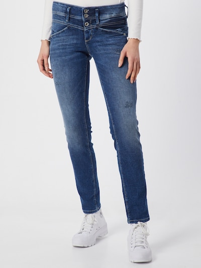 TOM TAILOR Jeans 'Alexa ' in blue denim, Modelansicht