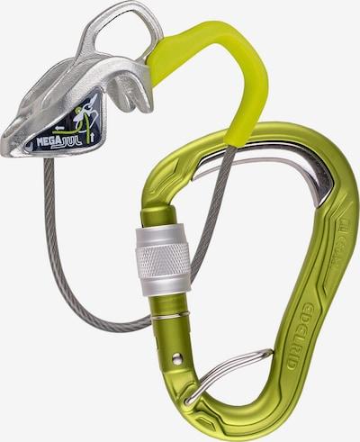 Edelrid 'Mega Jul Kit Bulletproof Screw' Sicherungsgerät in gelb, Produktansicht