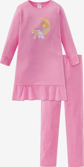 SCHIESSER Schlafanzug in mischfarben / rosa, Produktansicht