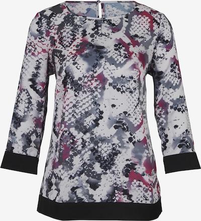 heine Bluse in grau / pink / weiß, Produktansicht