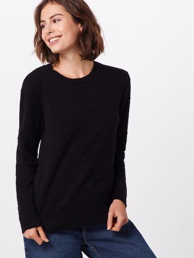 b.young Pullover 'Nona' in schwarz, Modelansicht