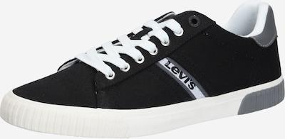LEVI'S Baskets basses 'SKINNER' en noir / blanc, Vue avec produit