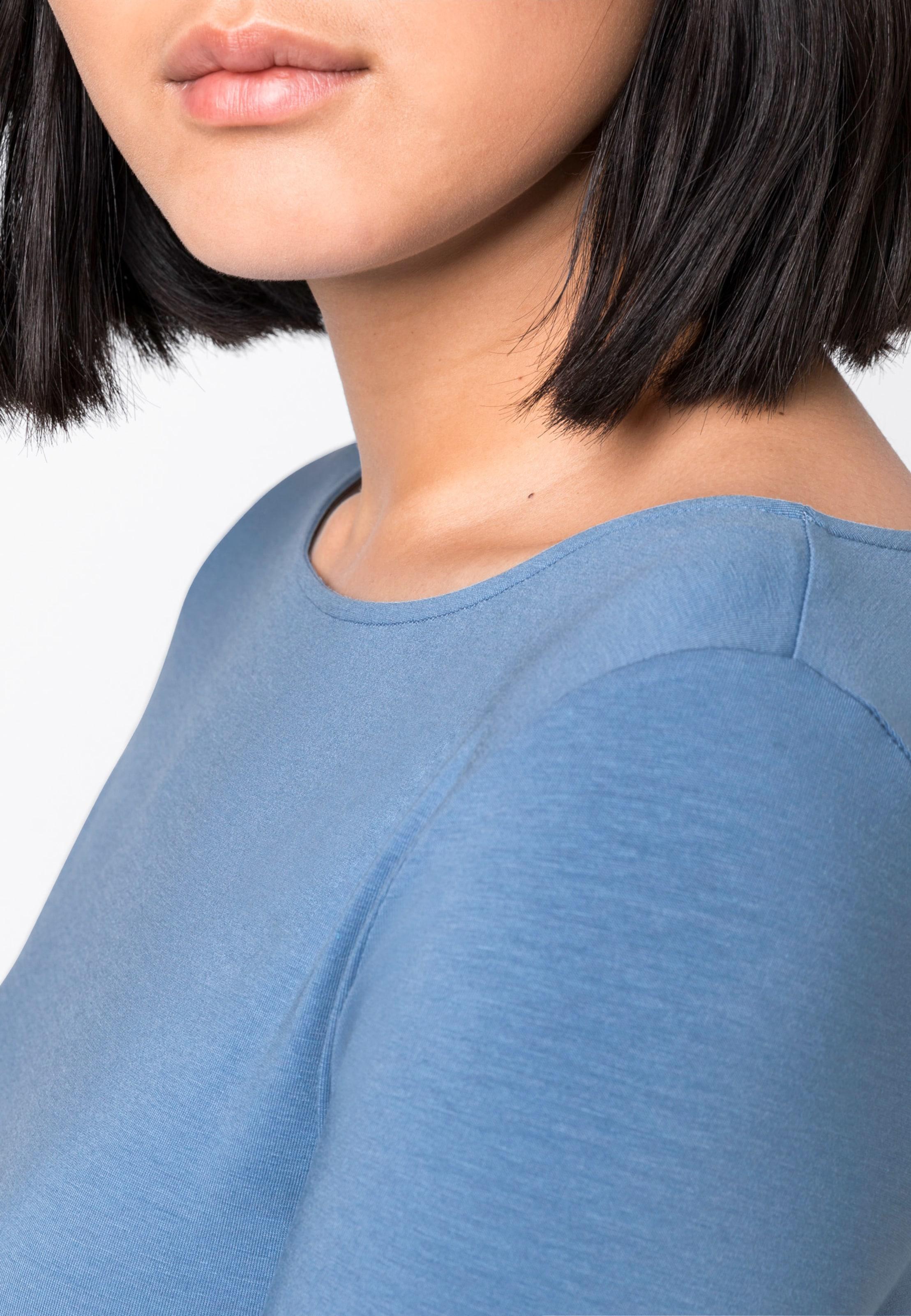 Hallhuber Basic shirt In Hallhuber Blau Basic Blau Basic shirt Hallhuber shirt In 4A3RL5qj