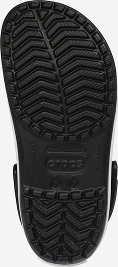 Crocs Clogs in schwarz: Ansicht von unten