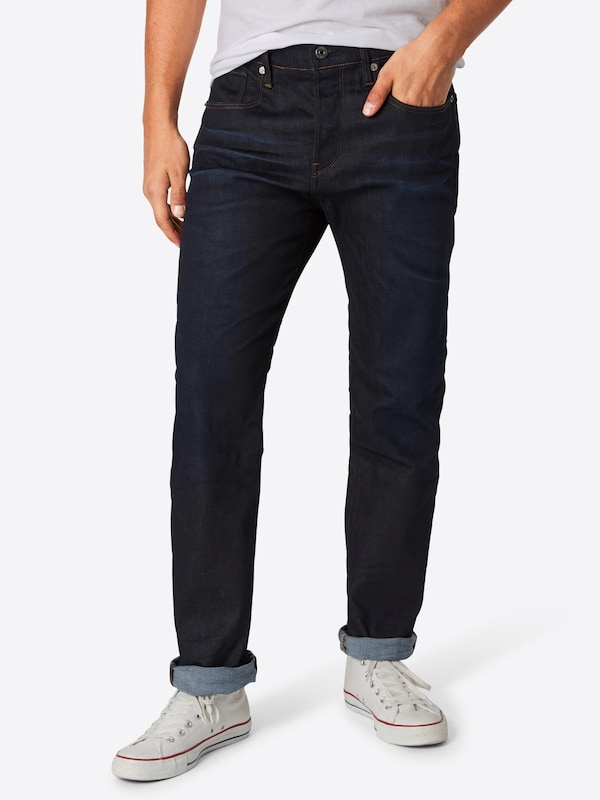 G-Star RAW Jeans '3301 Loose' in black denim, Modelansicht
