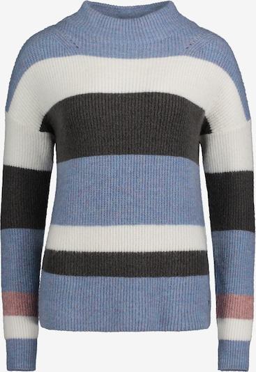Betty & Co Strickpullover in blau / grau / weiß, Produktansicht