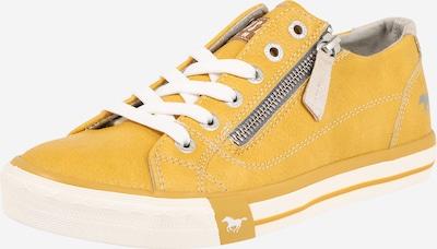 Sneaker low MUSTANG pe galben, Vizualizare produs