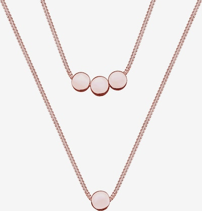 ELLI Necklace 'Kreise, Geo' in Rose gold, Item view