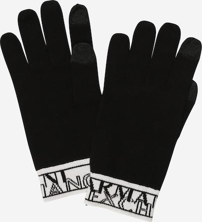 ARMANI EXCHANGE Handschuhe in schwarz / weiß, Produktansicht