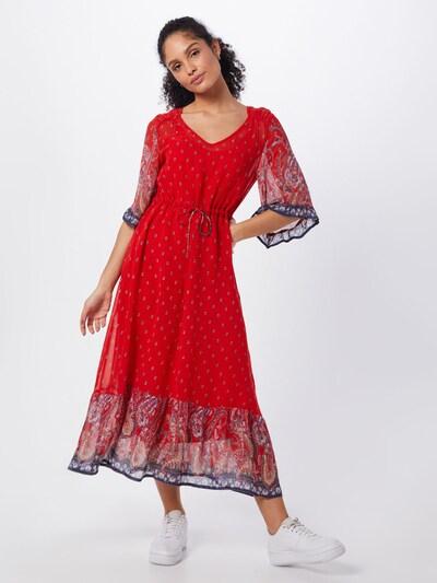 Cream Kleid 'Nalita' in rot / schwarz, Modelansicht