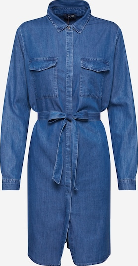 PIECES Shirt dress 'PCNISSA' in Blue denim, Item view