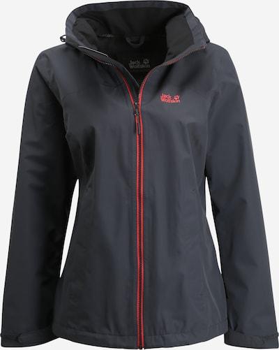 JACK WOLFSKIN Functionele jas 'Evandale' in de kleur Pink / Zwart, Productweergave