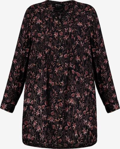 Ulla Popken Tuniek in de kleur Oudroze / Zwart, Productweergave