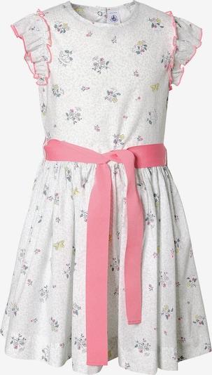 PETIT BATEAU Kleid in grau / mischfarben / pink / weiß, Produktansicht