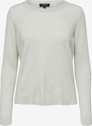 SELECTED FEMME Pullover in hellgrau, Produktansicht